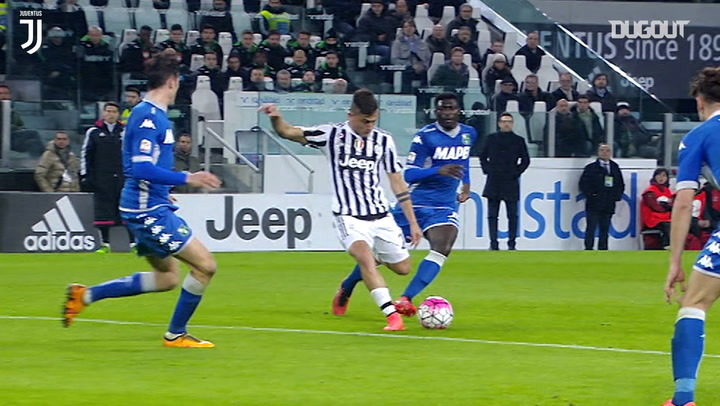 Paulo Dybala's incredible strike secures victory over Sassuolo