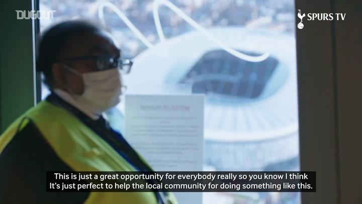 NHS take over Tottenham Hotspur Stadium