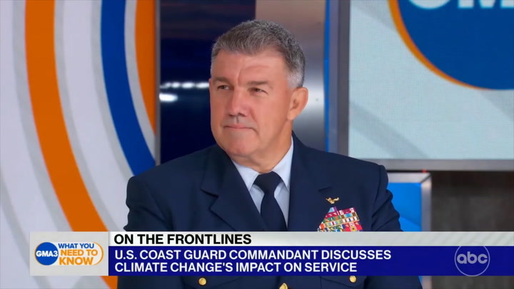 Coast Guard Commandant: Migration at Sea Has Increased - Migrants See 'Potential Signals' That 'There's an Opportunity' to Come to U.S.