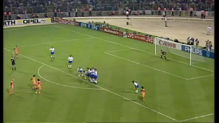 Gol de Koeman en la final de Wembley de 1992