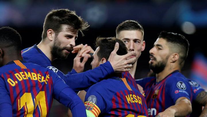 Último entrenamiento del Barça antes de recibir al United en Champions