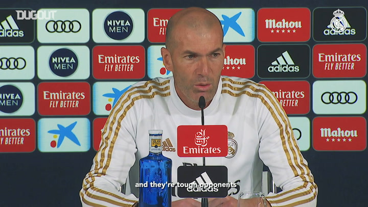 "Zinedine Zidane: ""We're fully focused on this match"""