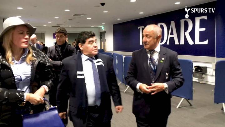 Diego Maradona Meets Mauricio, Harry and Hugo