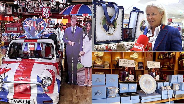 Harry y Meghan a tamaño real o una réplica del anillo, HOLA.com te muestra todo el \'merchandising\'