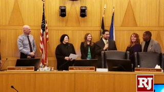 Michael Naft sworn in to Clark County Commission