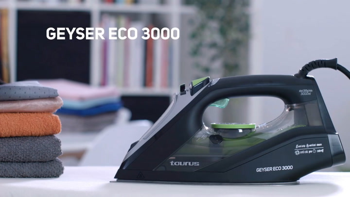 Preview image of Taurus Geyser 3000w Eco Dry And Steam Iron video