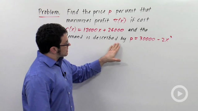 Optimization Problems: Applications to Economics - Problem 2