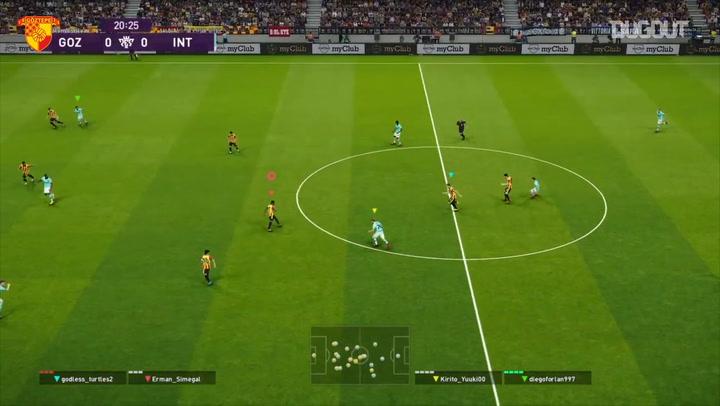 Göztepe Gaming 1 - 2 Inter E-Sport Maç Özeti