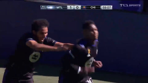 Romell Quioto se luce con otro golazo en triunfo del CF Montréal por la MLS