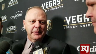 Gerard Gallant on Reilly Smith and William Karlsson