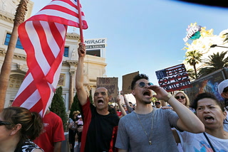May Day march brings thousands to Las Vegas Strip
