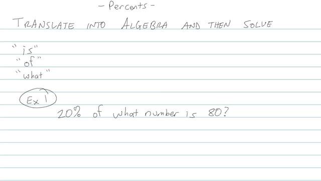 Percents - Problem 7
