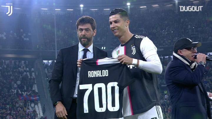 Ronaldo and Pjanić inspire Juventus to win over Bologna