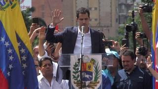 Guaidó se autoproclama