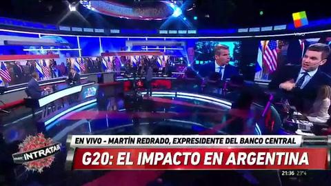 Redrado: La Argentina se tiene que proyectar al mundo sin ideología