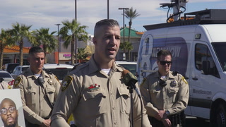 Las Vegas Metro Police Press Conference On Chinatown Thefts