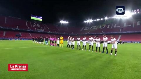 Sevilla 1 - 0 Rennes (UEFA Champions League)