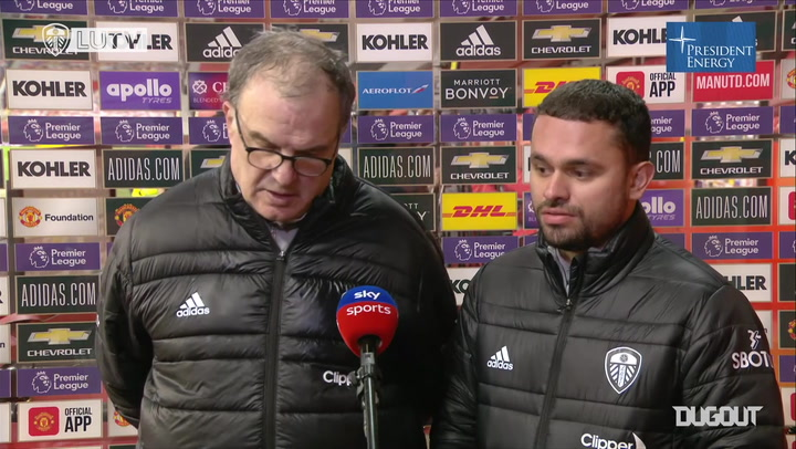 Bielsa: 'We will not abandon the way we play'
