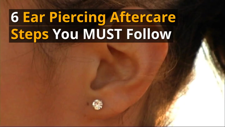 6 Important Ear Piercing Aftercare Steps