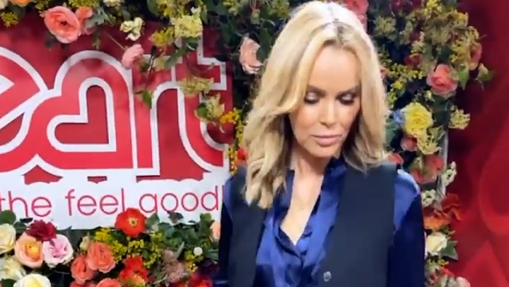 Amanda Holden wows fans in silky satin outfit
