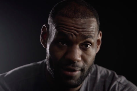 TROPHIES | LeBron Goes Dark