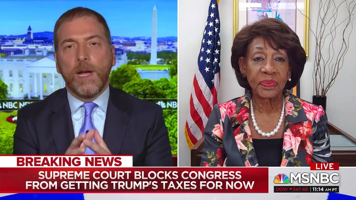Maxine Waters: SCOTUS 'Gave Us a Road Map' to Get Trump's Banking Records