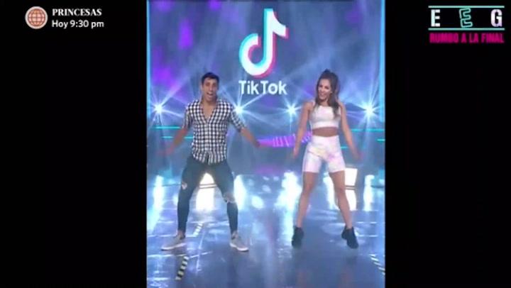 Alejandra Baigorria y Said Palao cautivaron con baile de TikTok