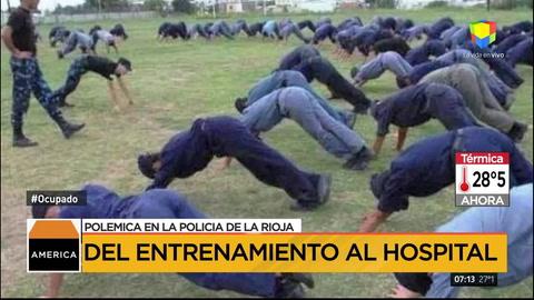 La Rioja: remueven a la cúpula de la escuela de Policía tras entrenamiento que dejó 12 internados