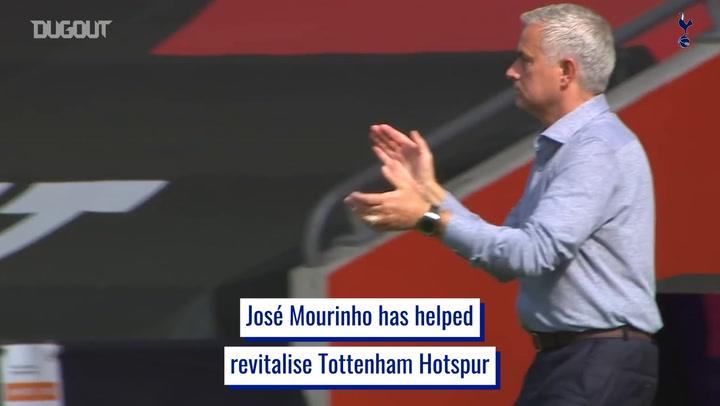 José Mourinho's journey as Spurs manager