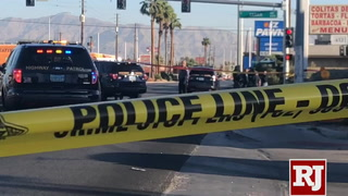 Las Vegas police investigate officer-involved shooting – VIDEO