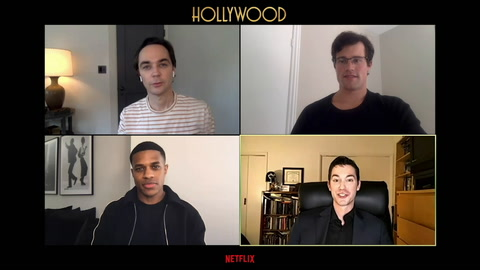 Jeremy Pope, Jim Parsons & Jake Picking dish on the 'Hollywood' casting couch