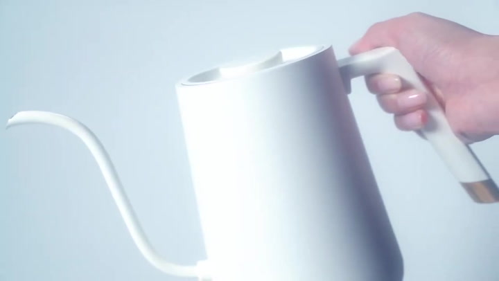 Preview image of Timemore Fish Smart Electric Pour-Over Kettle, 900 video