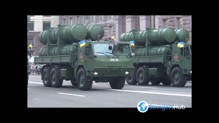 Ukraine celebrates 30th independence anniversary with military parade