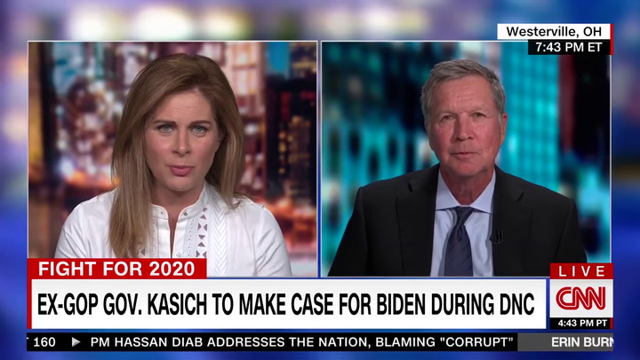 Kasich: Supporting Trump Is Not Consistent with Biblical Teachings --Biden 'Is a Man of Deep Faith'