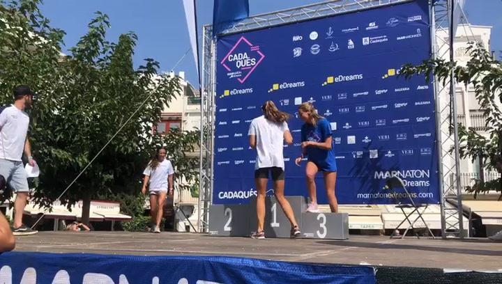 Jessica Vall y Lidon Muñoz triunfan en la Marnatón de Cadaqués
