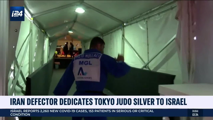Iranian defector dedicates Olympic silver medal to Israel