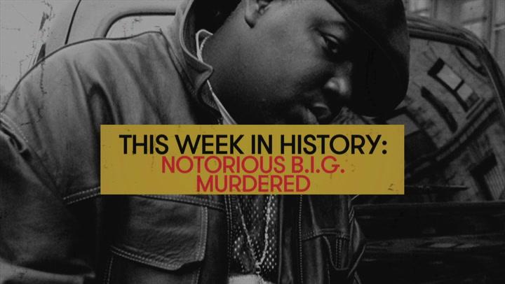 Notorious BIG Dies At 24 Years Old: This Week in History