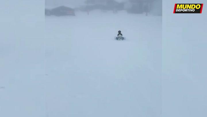 Georgina Rodríguez disfruta de una escapada en la nieve