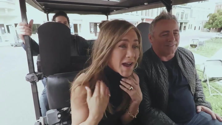 The cast of Friends do Carpool Karaoke with James Corden