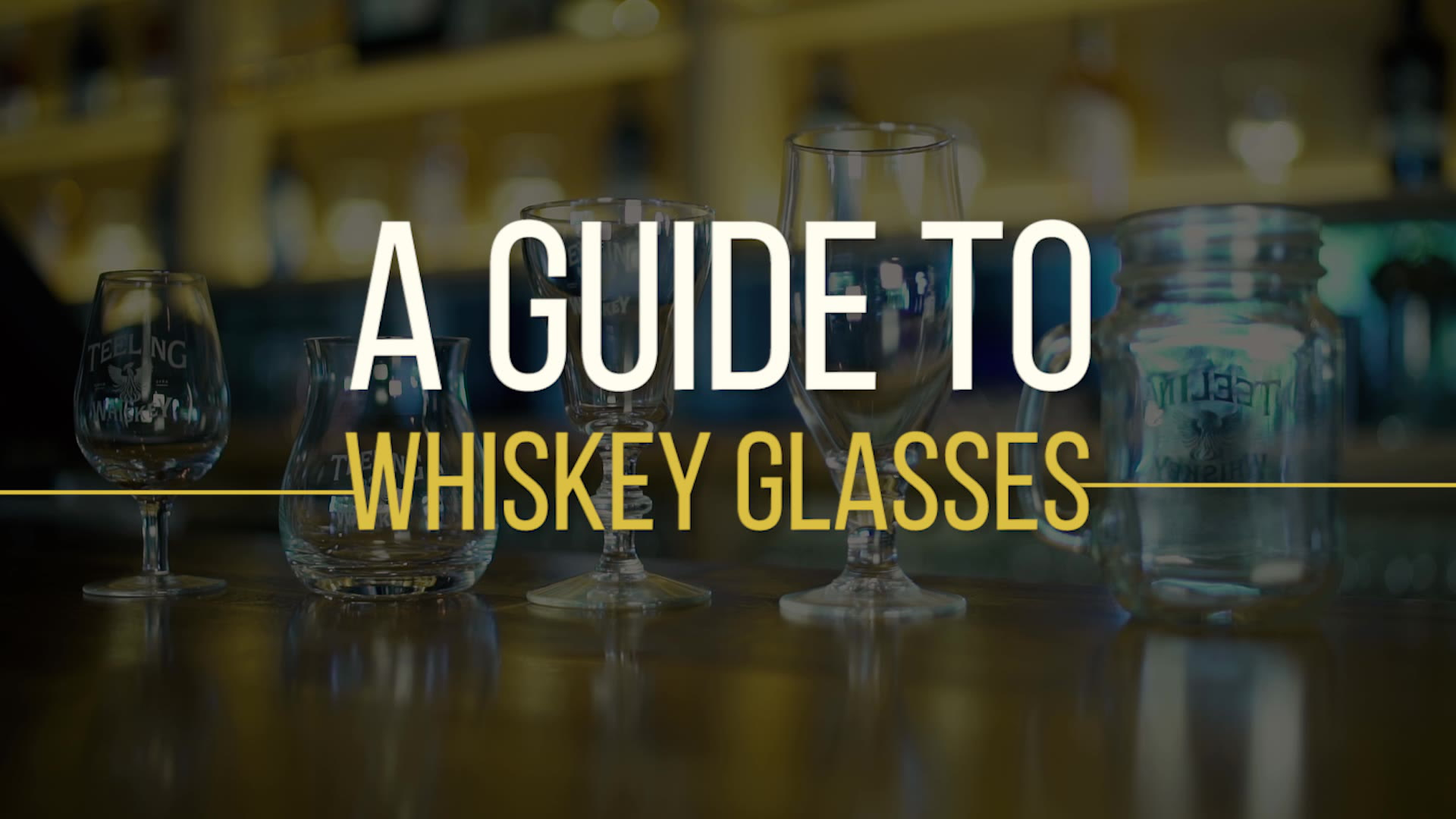 A Guide to Whiskey Glasses: 4 Must-haves for Your Bar Cart forecast