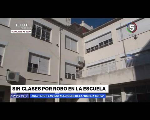 Sin clases en la escuela Nigelia Soria por robos y destrozos