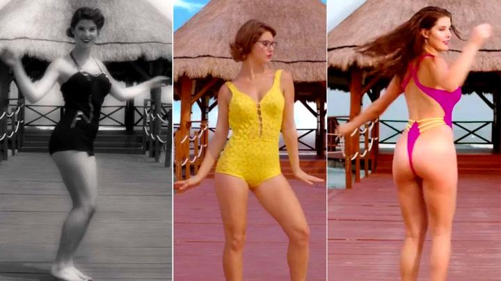 Bikinimote: Det har vært bedre. Og MYE verre!