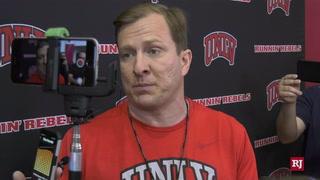UNLV Runnin' Rebels Head Coach T.J. Otzelberger On Team Practice – Video