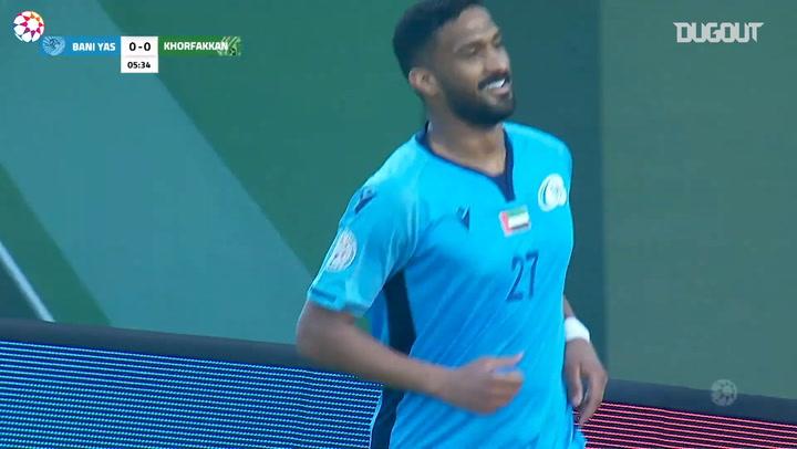 Highlights: Khorfakkan 1-2 Baniyas