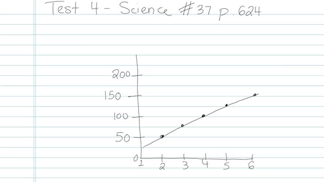Test 4 - Science - Question 37