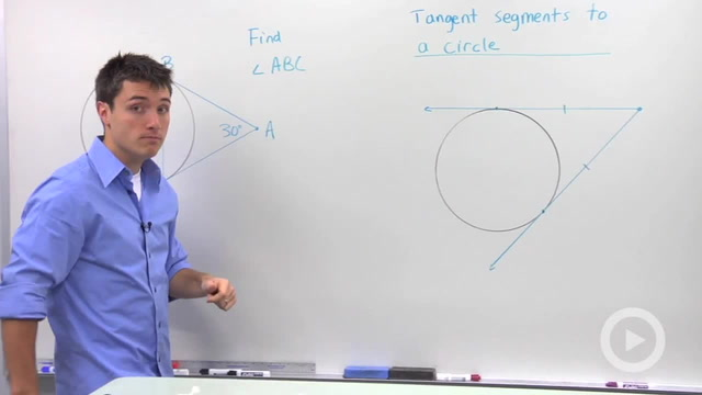 Tangent Segments to a Circle - Problem 2