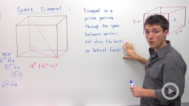 Space Diagonals - Problem 2