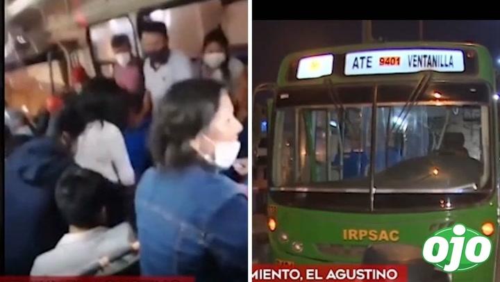 Balean a pasajeros de bus en asalto: delincuentes se hicieron pasar por vendedores ambulantes