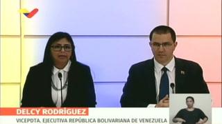 Venezuela suspende vínculos con Aruba, Curazao y Bonaire
