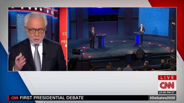 CNN's Blitzer: 'Wouldn't Be Surprised' If This Is 'the Last' Debate Between Trump and Biden